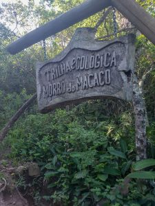 placa morro do macaco