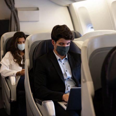 viajar de avião na pandemia